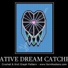 Native Dream Catcher - Afghan Crochet Graph Pattern Chart