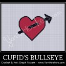 Cupid's Bullseye - Afghan Crochet Graph Pattern Chart