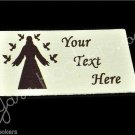 Heavenly Father - Iron On / Sew In - 100% Cotton Fabric Labels (White)