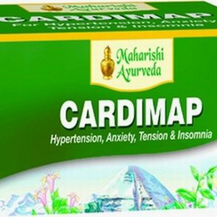 Maharishi Ayurveda Cardimap Tablets (100 Tablets)-Anti-Hypertension-Sarpagandha250mg