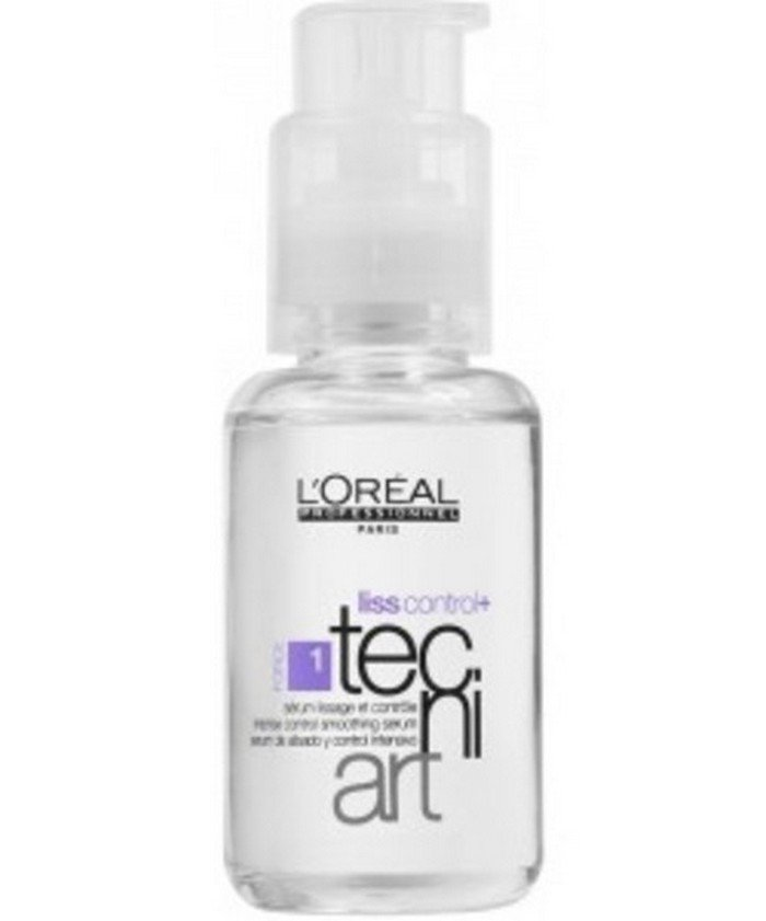 2 LOT X L'Oreal Professionnel Liss Control Plus Tecni Art Serum (50 ml)