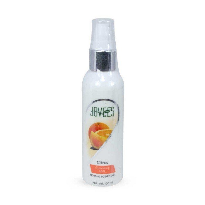 2 LOT X Jovees Citrus Cleansing Milk for Normal to Dry Skin - 100 Ml