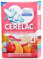 2 LOT X Nestle Cerelac Multi Grain 5 Fruits - Stage 4-12 Months