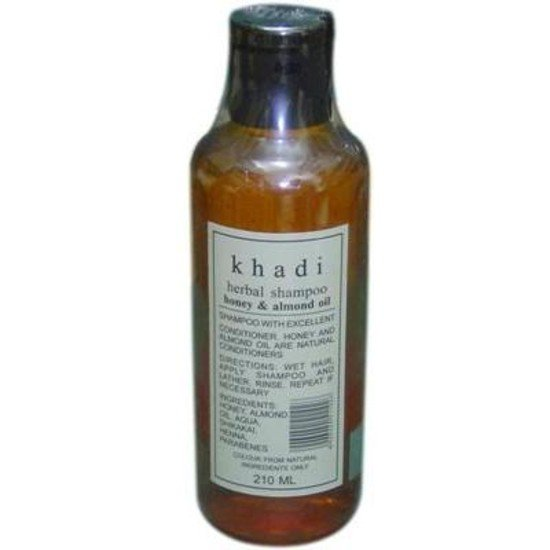 2 LOT X Khadi Shampoo With Almond Oil & Honey (210 ml)