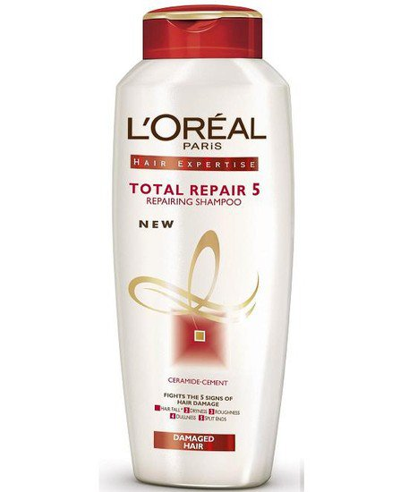 2 LOT X L'Oreal Paris Total Repair 5 Repairing Shampoo (175 ml X 2)