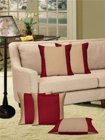 """Double Sided Cushions Cover (Pack of 5) - 16 """"X 16"""""""
