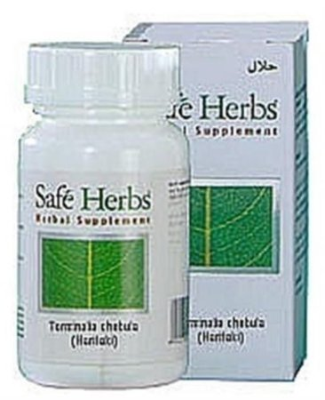 3 Lot X Triphala - 60 Capsules By Safe Herbs - Helps Digestion /Constipation