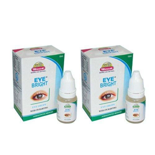 2 x Wheezal Homeopathy- Eye Bright Drops.(Pack of 2)
