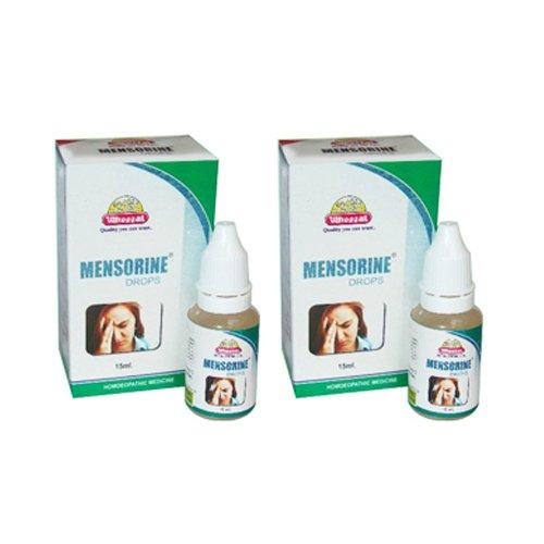 2 x Wheezal - Homeopathy - Mensorine Drops.(Pack of 2)