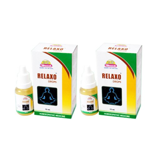 2 x Wheezal - Homeopathy - Relaxo Drops.(Pack of 2)