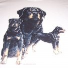 New Rottweiler T-shirt Adult Large Item # 30