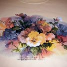 Pansy Bouquet NEW Lg Yellow Sweatshirt