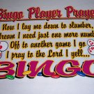 New Bingo Prayer T-shirt Adult Medium Item # 13
