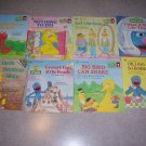 8 Book Lot Sesame Street Books