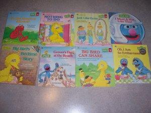 8 Book Lot Sesame Street Books