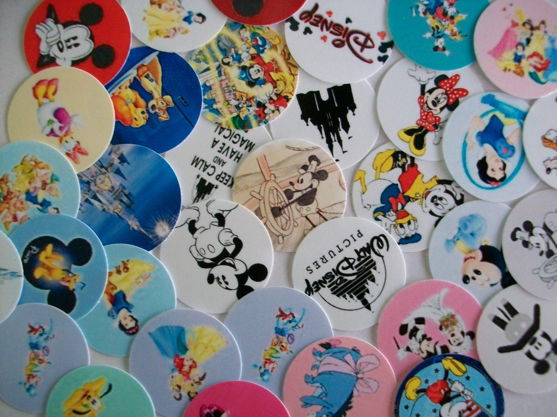 "Disney 1"" Round Images"