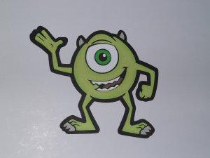 disney monsters inc scrapbook paper piecing