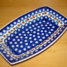 Polish Pottery Serving Dish Nature Boleslawiec Poland