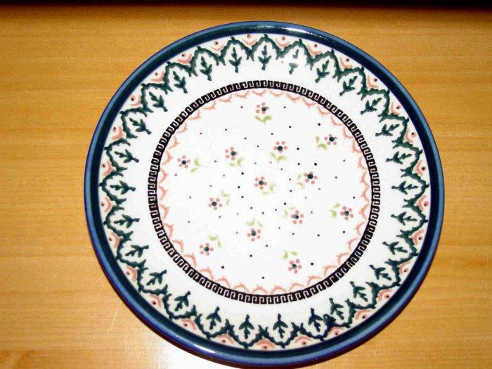 Polish Pottery Dessert Plate Madison Zaklady Ceramiczne Boleslawiec Poland