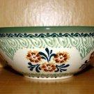 Polish Pottery Bowl Unikat  Provence Boleslawiec Poland
