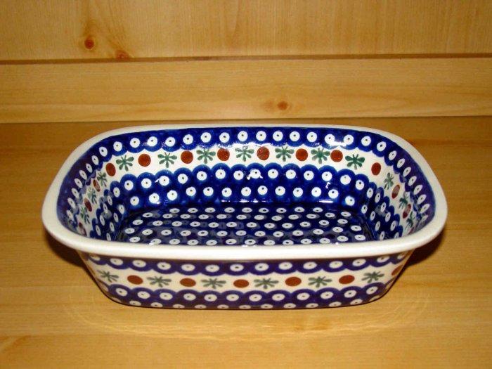 Polish Pottery Loaf Baker Nature Zaklady Ceramiczne Boleslawiec Poland