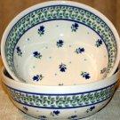 Polish Pottery Bowl  Morning Deight Gat 1 Zaklady Ceramiczne Boleslawiec