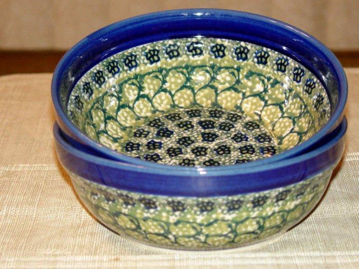 Polish Pottery Bowl  Shannon Unikat Zaklady Ceramiczne Boleslawiec