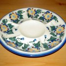 Polish Pottery Signature Deviled Egg Veggie Fruit Tray Sunflower Unikat Ceramika Boleslawiec Poland