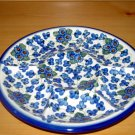 Polish Pottery Signature Deviled Egg Veggie Fruit Tray Three Sisters WR Unikat Boleslawiec Poland