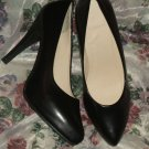 Black High Heel Pumps Sz 10