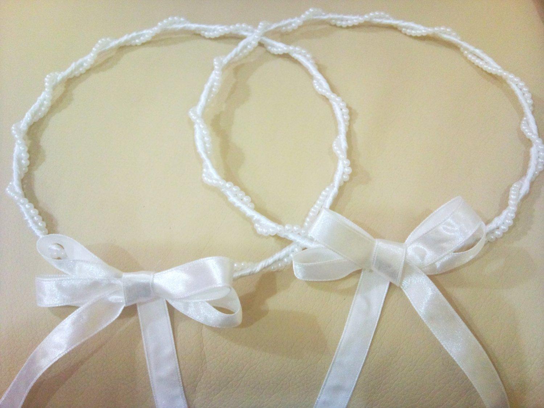 Pearl Wedding Crowns