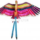 3D BIRD OF PARADISE KITE FLYING TOY ART CRAFTS ROOM WALL HOME DECOR HANGING A2