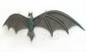 BATMAN RETURN 1.2M 3D Huge Black Bat Kite/Gift/Children