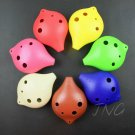 6 HOLE ALTO C OCARINA FLUTE MUSICAL INSTRUMENT GIFT IDEA MEN BABY KIDS BOY GIRL