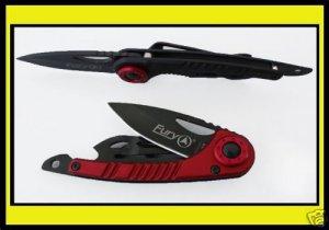 American FIREBIRD Aluminium Handle Folding Knife , RED