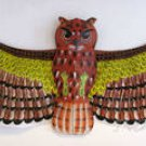 3D HUGE GIANT CARIBBEAN OWL KITE FLYING TOY / CHINESE ART & CRAFTS SOUVENIRS
