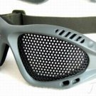 METAL MESH PROTECTION FLY GOGGLE ANTI IMPACT AIRSOFT