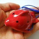 TROPICAL FISH OCARINA FLUTE GREAT 4 TEACHING CHILDREN