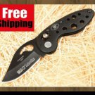 Black Swan Folding Pocket Knife with Box Camping Outdoor Gear