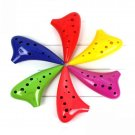TAIWAN TNG 12 HOLE ALTO C SUBMARINE OCARINA FLUTE FUN TO PLAY - MULTI COLOR CHOICE