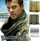 100% COTTON PREMIUM MENS / WOMENS ARAB SHEMAGH KEFFIYEH SCARF XMAS GIFT IDEAS OLIVE GREEN & BLACK