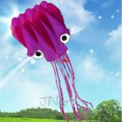 "5M / 196"" IN LARGE OCTOPUS KITE W/ GRIP & STRING OUTDOOR PARK BEACH FUN TOY KIDS"