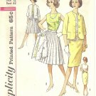 "Simplicity #4400 Misses 1960s ""Mix & Match"" Blouse / Jacket / Two Skirts Bust 32 Pattern"