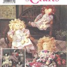 "Simplicity Crafts #9798 One Size 24"" Girl Doll or Cow Doll w/ Clothes Pattern"