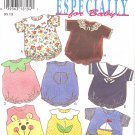 NEW LOOK #6399 Babies Beautiful Themed Playsuits ~ 8 Views Sz NB - L FF Pattern