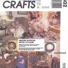McCalls Crafts #3502 Heartfelt Pillows / Wreath / Wall Hanging / Placemats + FactFold Pattern