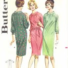Butterick #2932 Misses 1960s Raglan Slv Shift w/ Belt Option Bust 34 Pattern