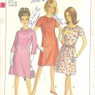 Simplicity #6934 Misses 1960s A-Line Princess Seam Dress - 3 Views Bust 34 Pattern