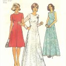 Simplicity #6094 Misses 1970s Day or After 5 Length Dress w/ Seam Interest Bust 32 1/2 Pattern