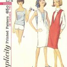 Simplicity #5454 Misses 1960s Summertime V-Neck Jumper / Top / Shorts Bust 36 Pattern